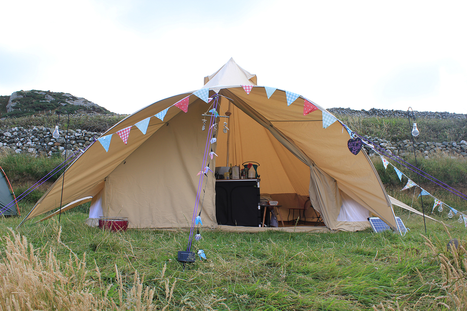 Boutique C&ing Star Canopy Bell Tent  sc 1 st  C&ing with Style & We Review The Stunning Star Canopy Bell Tent from Boutique Camping