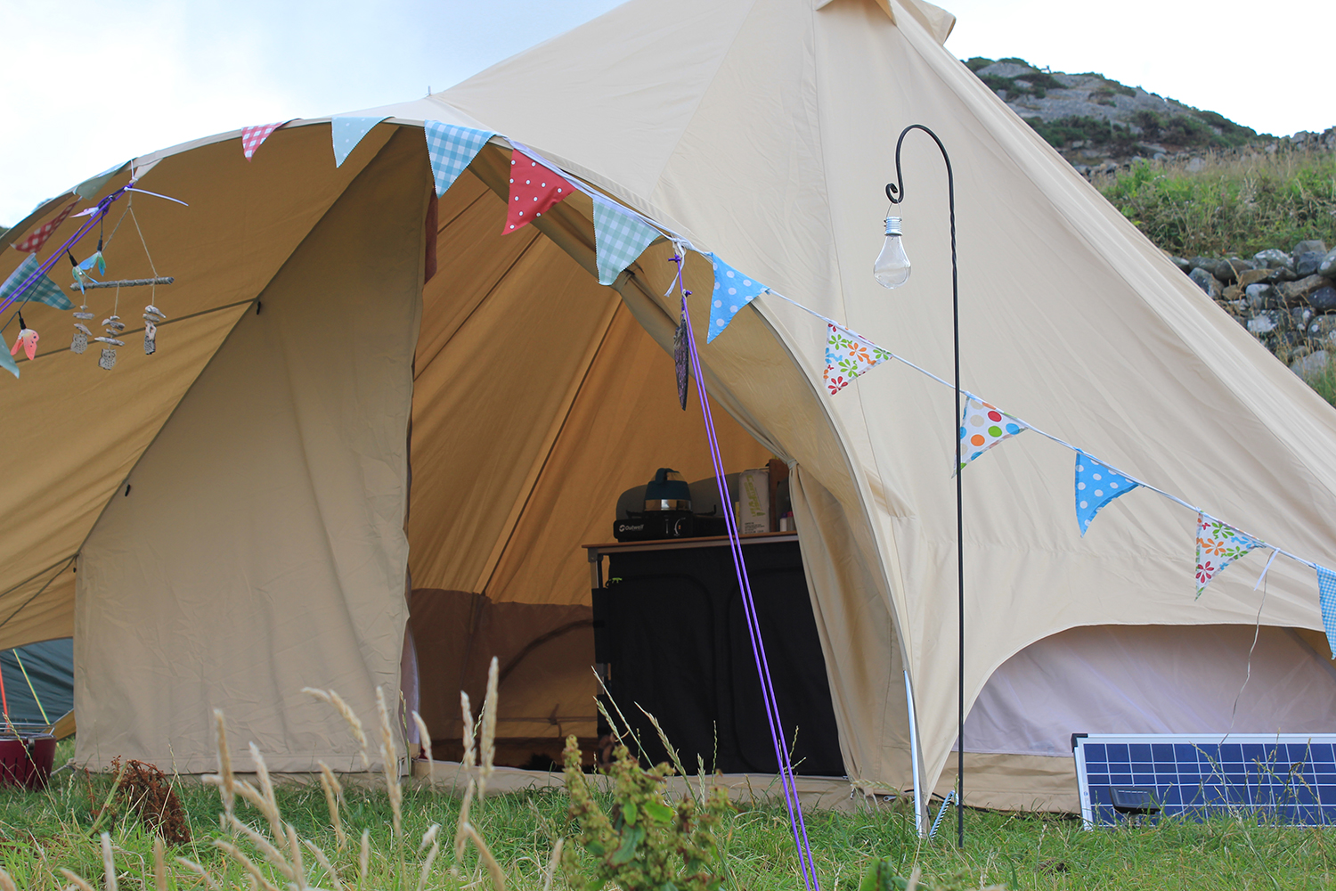 Boutique Camping Star Canopy Bell Tent