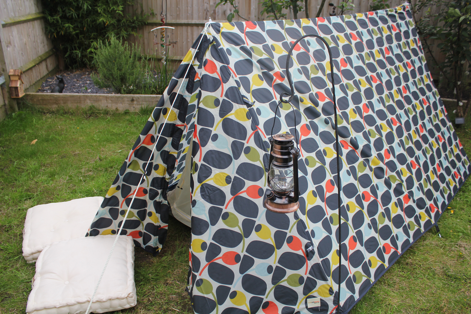 Orla Kiely A Frame Tent Review & Orla Kiely Design A Frame Tent from Halfords