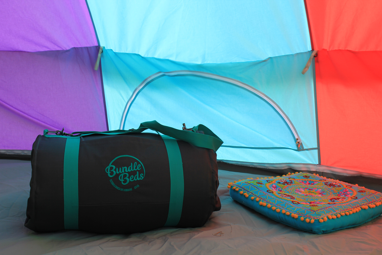 Bundle Beds perfect for camping