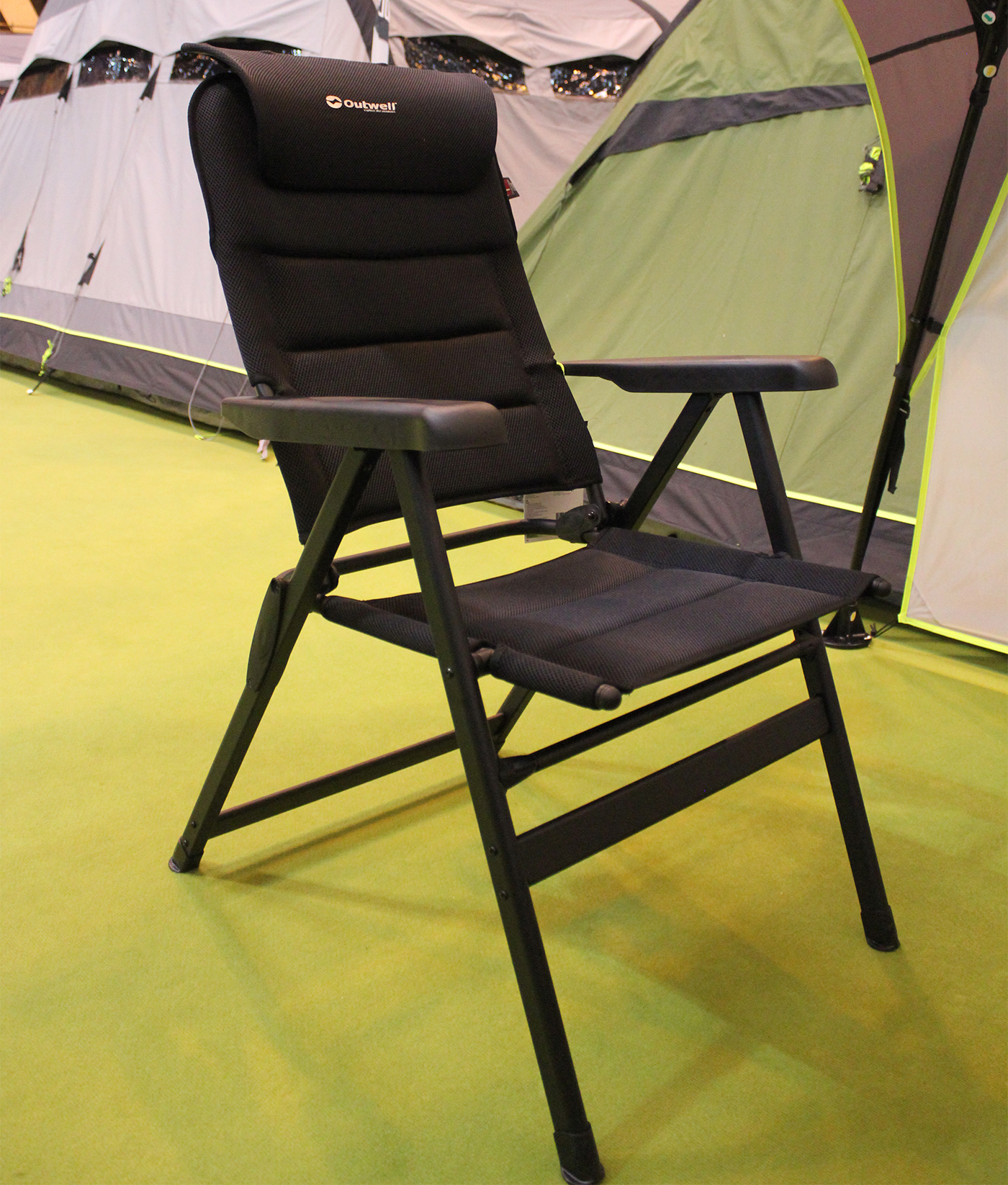 Outwell Grand Canion Black Mesh Camping Chair
