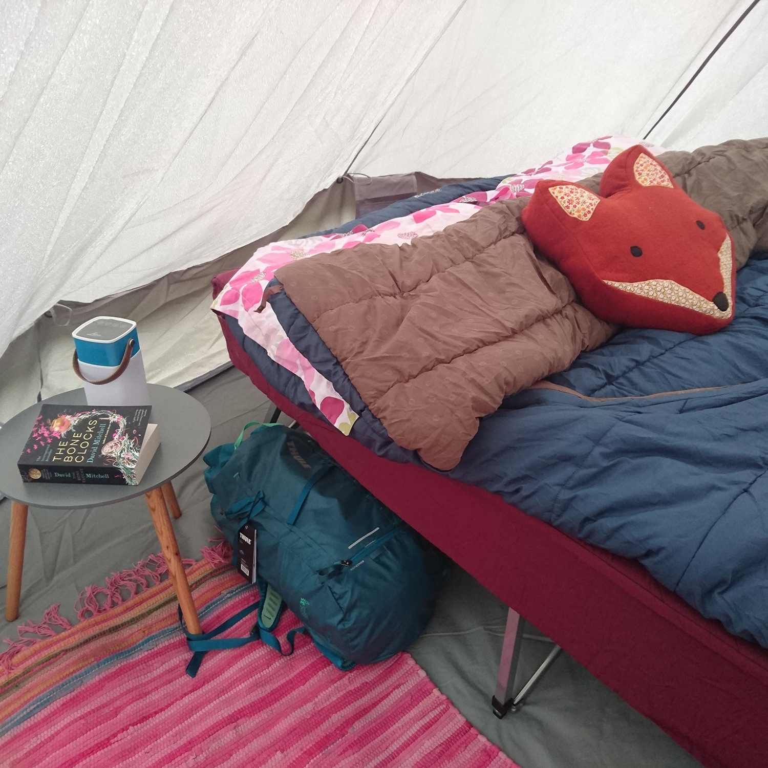 Outwell camping bed stay warm when camping