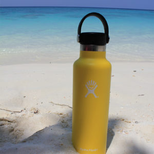 Traveling in the Tropics with the Hydro Flask 21 oz Standard Mouth