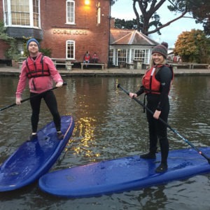 ACTIVE | Start The Year With Something New! Our First SUP Lesson With EXE Adventures