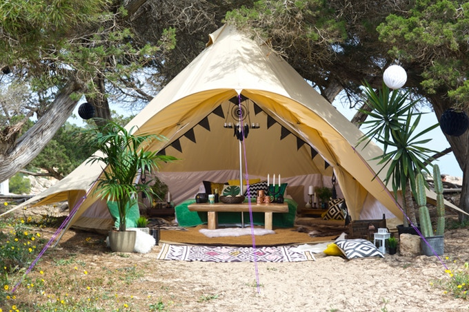 super popular a659c 52042 CAMPING NEWS | Boutique Camping Launches New Star Bell Tent ...