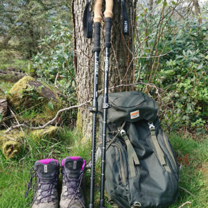 GEAR | Walking in Scotland Using Hitrek Aluminium Lightweight Walking Poles