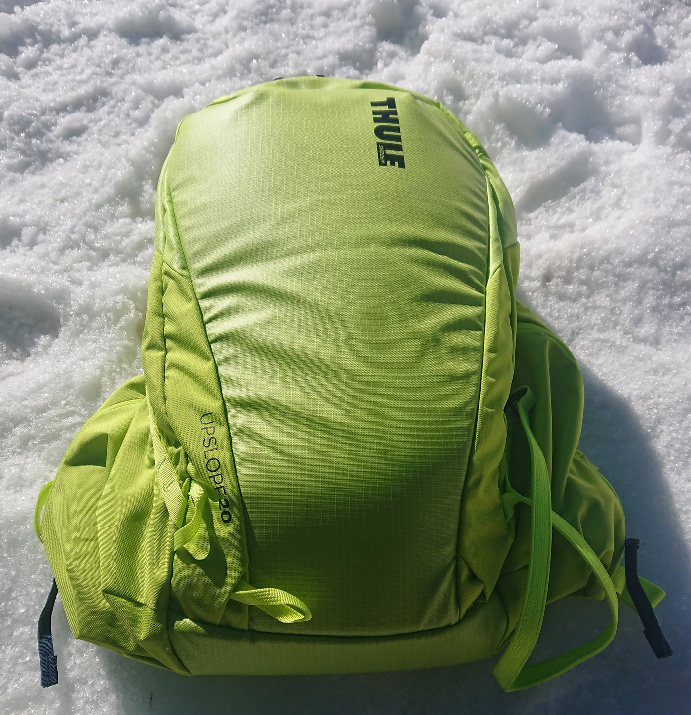 226e9329d4a GEAR | Thule Upslope Snowsports Backpack 20L in Lime Punch - Review