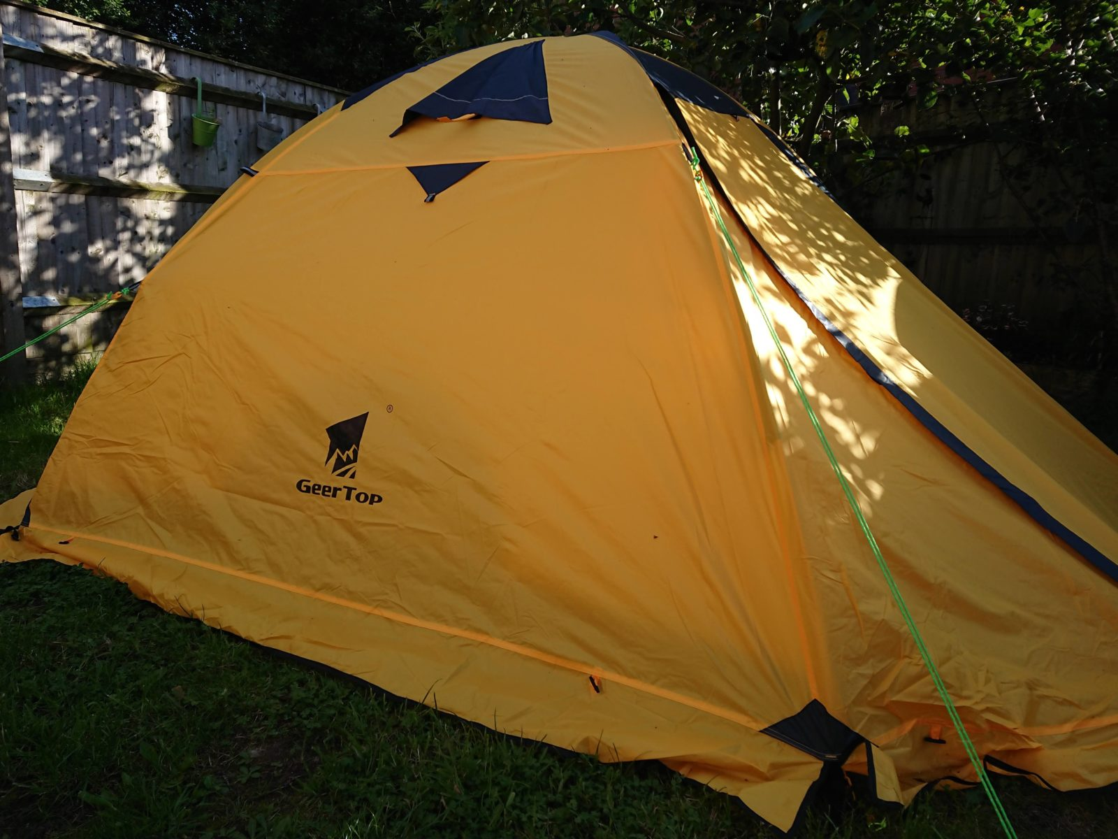 buy popular d4d57 7f393 GeerTop Toproad 4plus 4 Person Lightweight Backpacking Tent ...