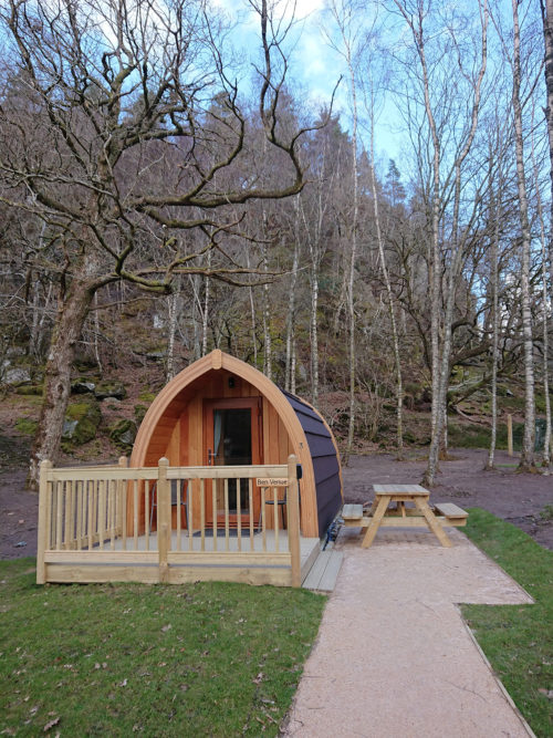 Loch katrine eco lodges glamping review