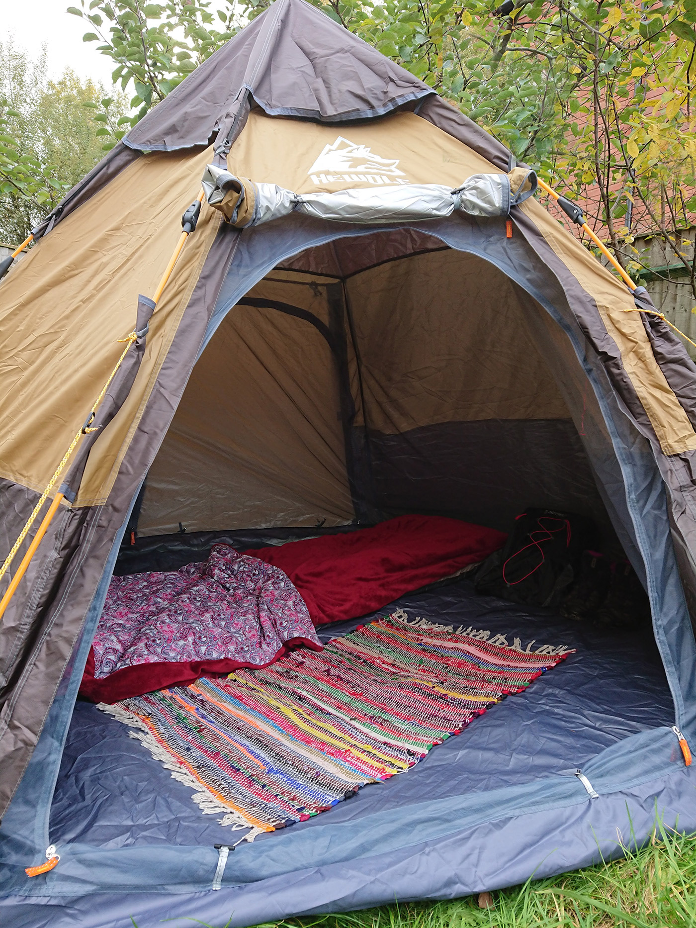 coleman easy up tent review