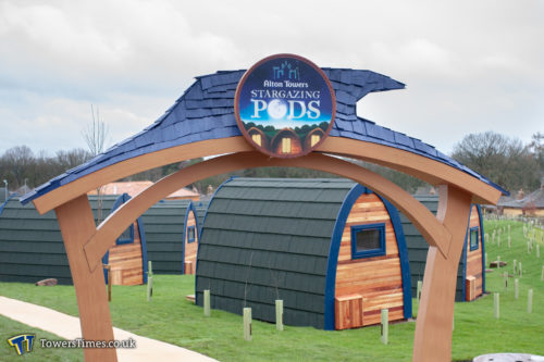 alton towers glamping pods