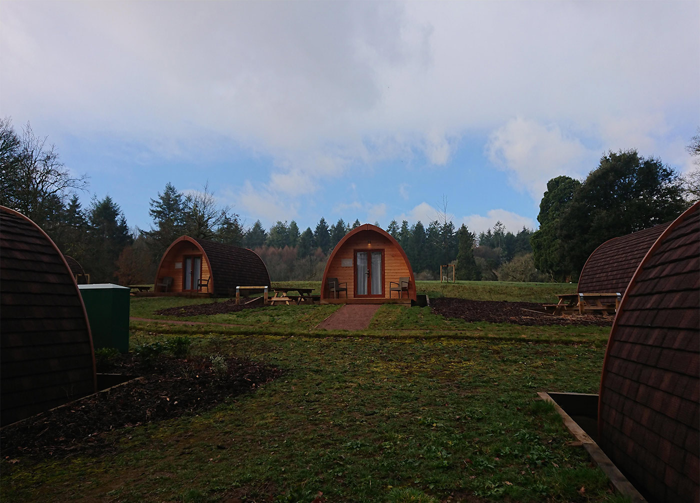 Whitemead Forest Park Glamping Pods
