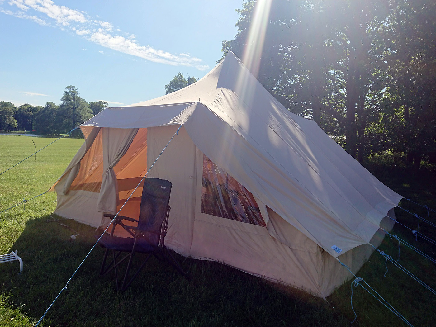 TENTS | Bell Tent Boutique Touareg Bell Tent - Review