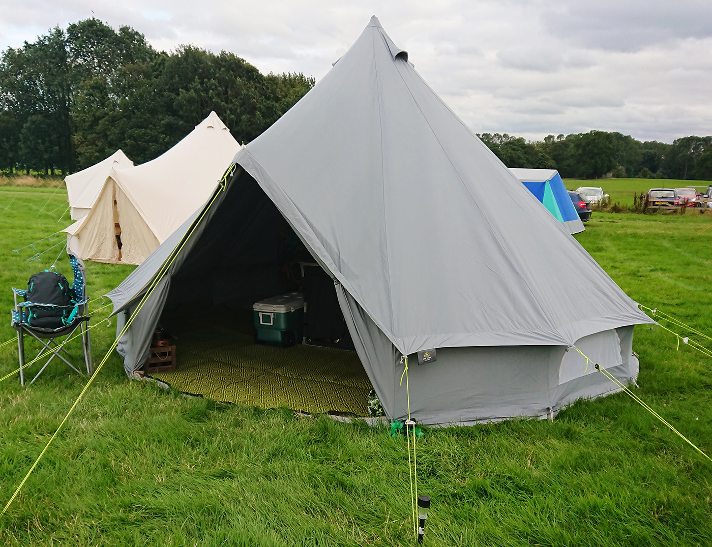 Life Under Canvas 5m Bell Tent