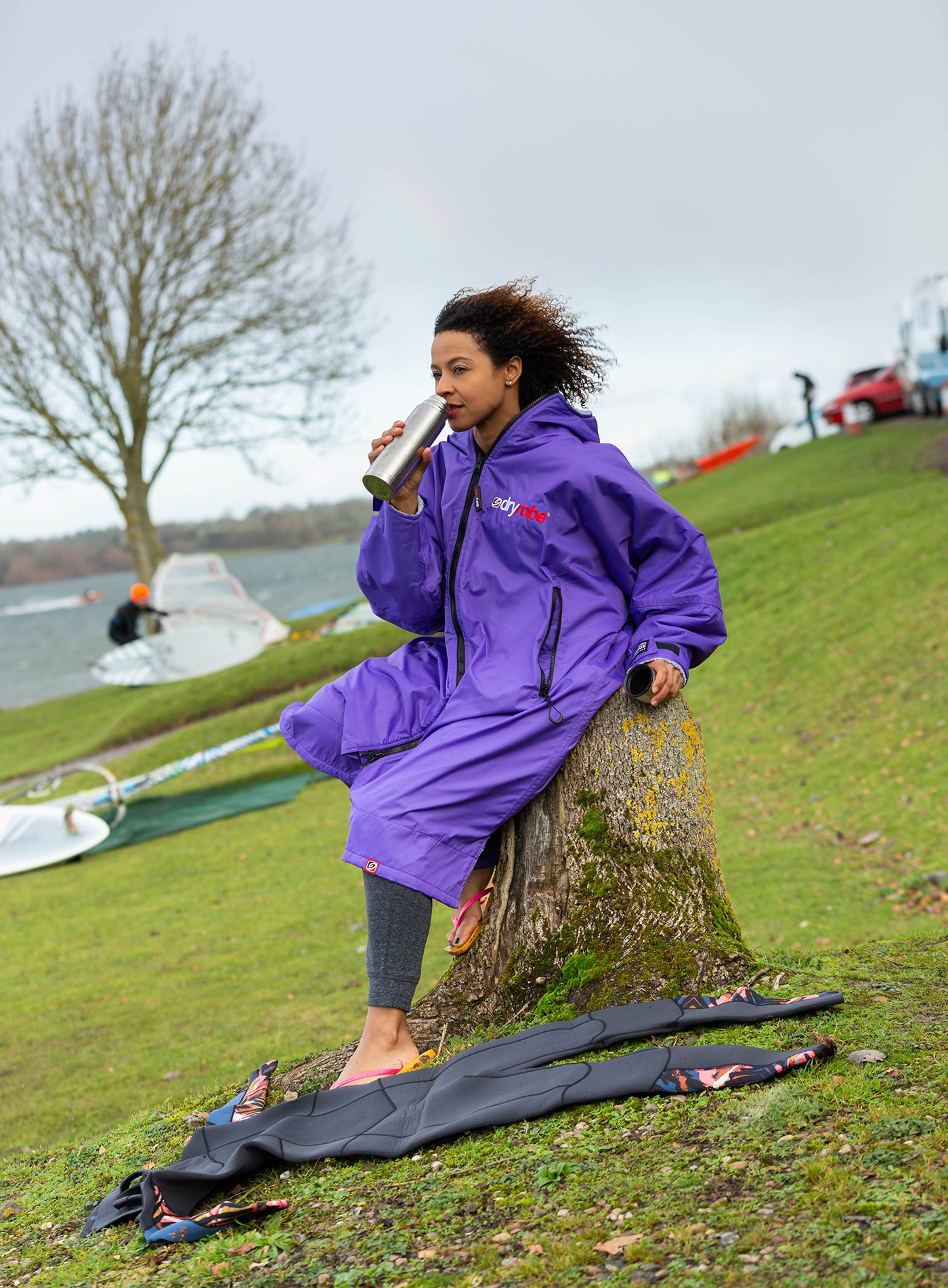 Dryrobe An Essential Bit Of Gear For Outdoors Sports Enthusiasts