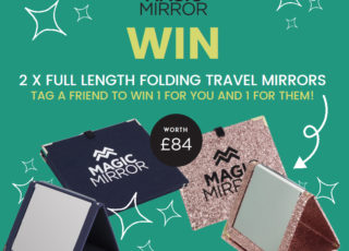 COMPETITIONS | Win A Full-Length Travel & Camping-Friendly Magic Mirror For You & A Friend Worth £84